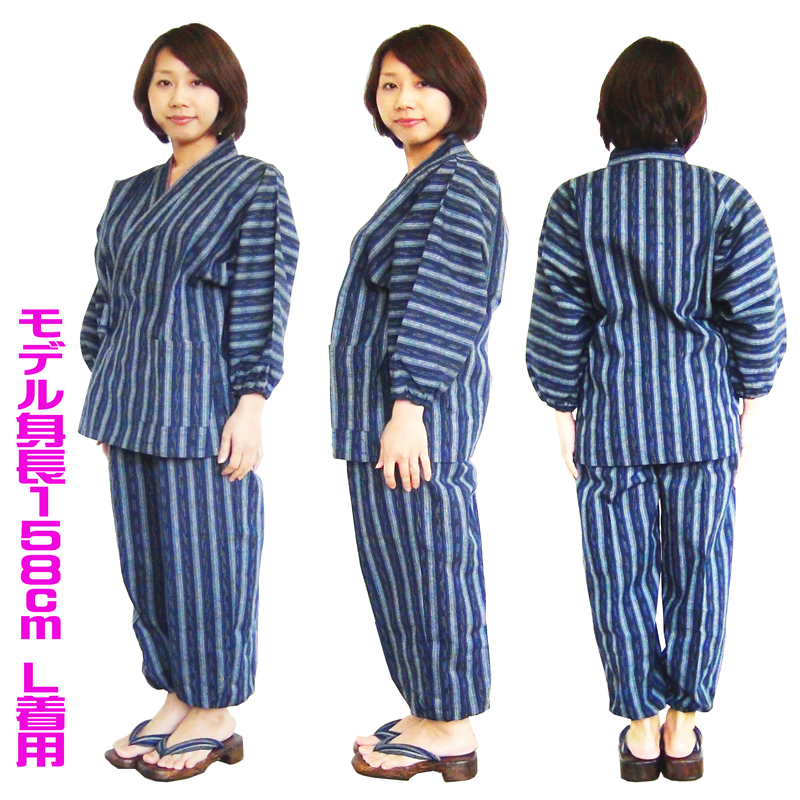 142-610, Samue for women Japanese pattern, click